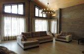 интерьер в деревянном доме, строительство под ключ, клееный брус екатеринбург