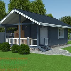 проект дома скандинавия