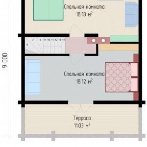 дом из клееного бруса 120м2