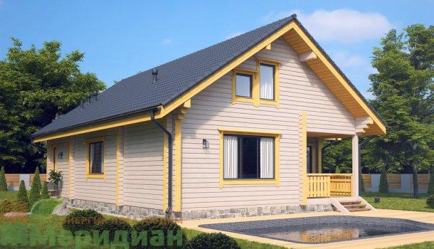 дом из клееного бруса 150м2 цена