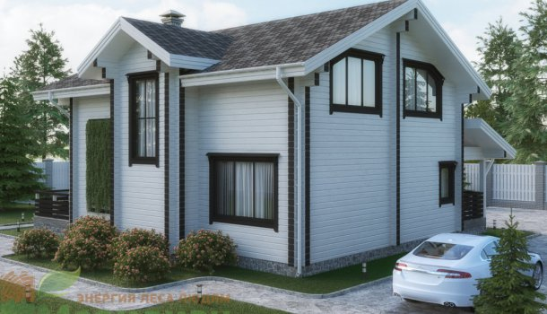 дом из клееного бруса 200м2 цена